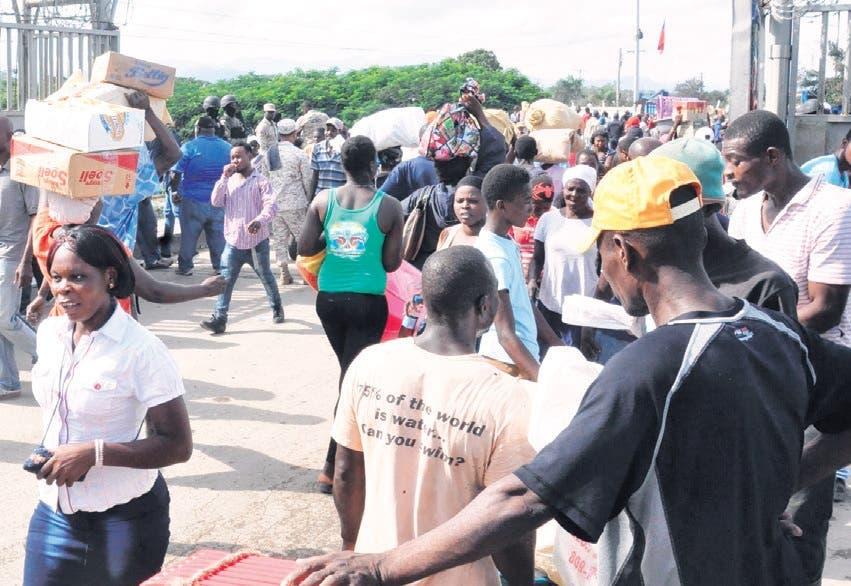 Veda Gobierno Haití afectaría más a los comercios grandes