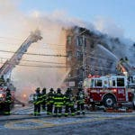 Bronx Building Fire