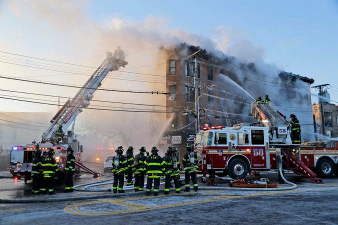 Bronx Building Fire