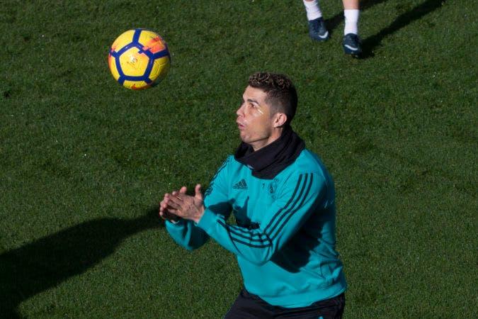 Cristiano Ronaldo.  (AP Photo/Paul White)