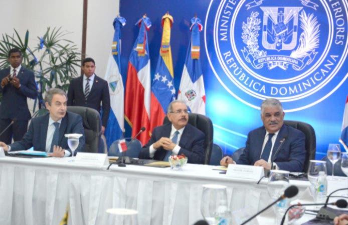 Luis Videgaray asiste a diálogo sobre crisis venezolana