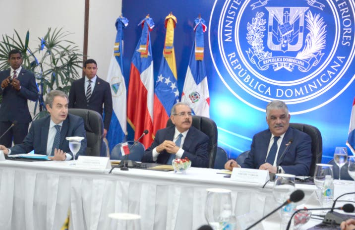 Miguel Vargas dijo que espera que el proceso culmine de forma exitosa/Foto: CancilleríaRD