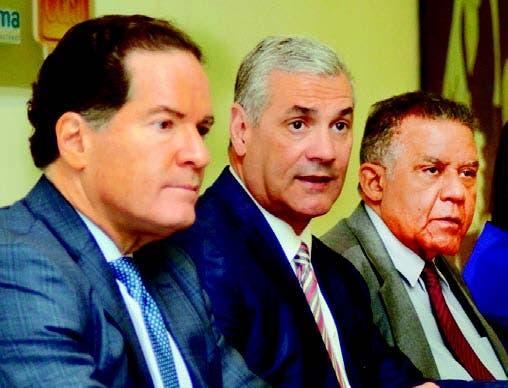 El empresario Manuel Corripio, el ministro de Obras Públicas,
