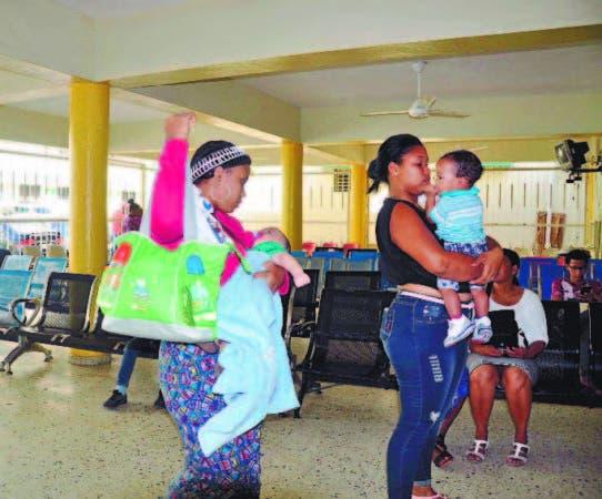 En los hospitales pediátricos las actividades eran tímidas ayer