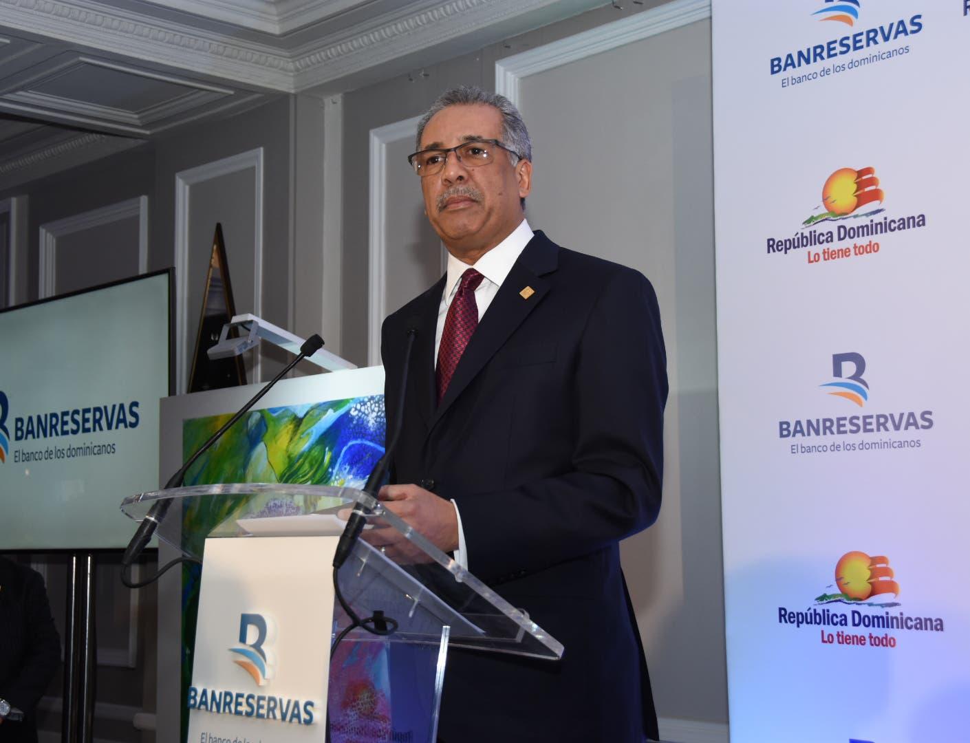 Lizardo Mézquita resalta apoyo financiero de Banreservas al turismo