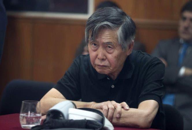 Alberto Fujimori/AP