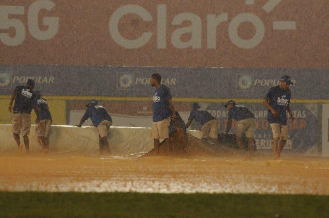 Deportes / Suspensión del juego, por motivos de lluvia. 11-01-18. Fotos: Carlos Alonzo.