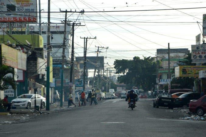 Calle Marcos Ruiz, en Villa Juana.Hoy/ Napoleón Marte
