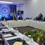 Diálogo entre Oposición venezolana . Archivo.