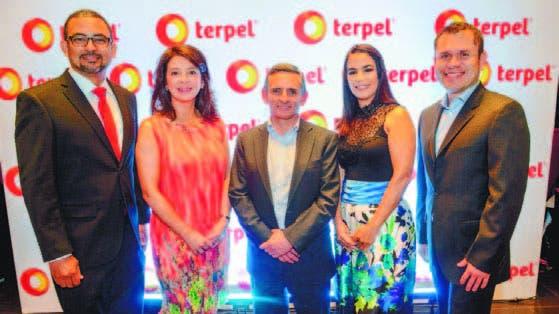 Jairo Acevedo, Liliana Tovar, Andrés Bejarano, María Castro y Johan