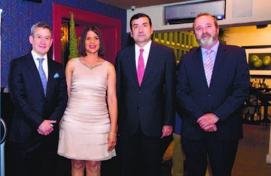 James García, Gina Jiménez, Sergio Peréz y Carlos Ospina