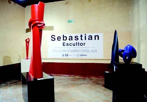 La obra de Sebastián está basada en disciplinas científicas como las