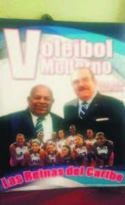 La portada del libro de voleibol