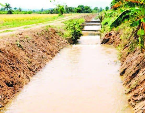 Los productores solo riegan en el día y en la noche se pierde el agua