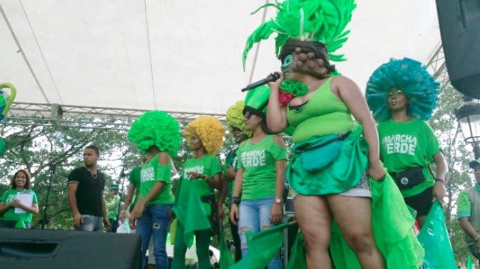 Marcha Verde colorido