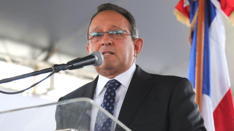 Ministro de Agricultura, Ángel Estévez informa crecimiento del sector agropecuario durante el 2017.