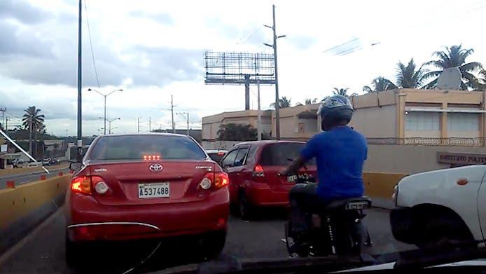Video: Elevados vuelven a ser preferencia de motoristas pese a «Equipo Águila» de Amet