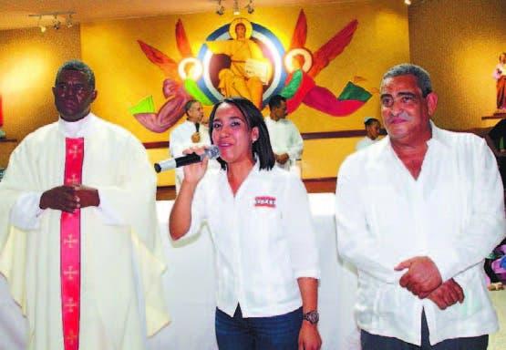 Padre Fermín de los Santos, Marjorie Tiburcio y Polibio Díaz