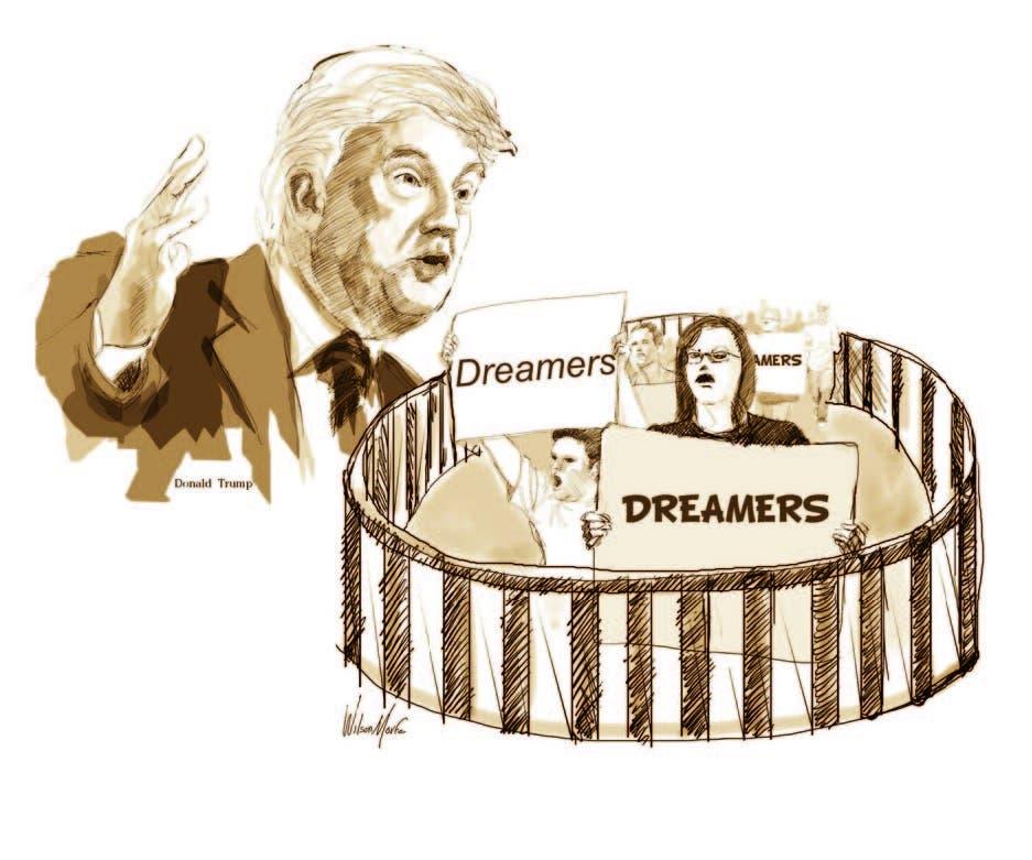 Con los inmigrantes, Trump procede como los mulatos ricos de Saint-Domingue con los esclavos