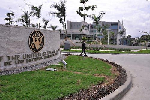 Inauguracion de la Embajada de Los Estados Unidos