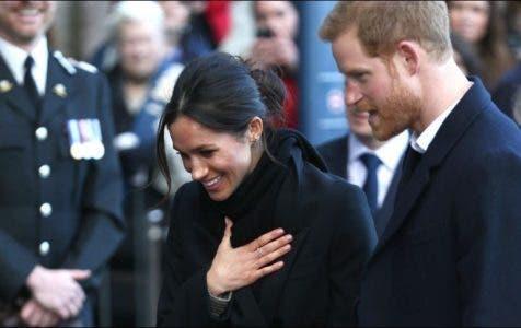 El príncipe Enrique y Meghan Markle visitan Gales por primera vez