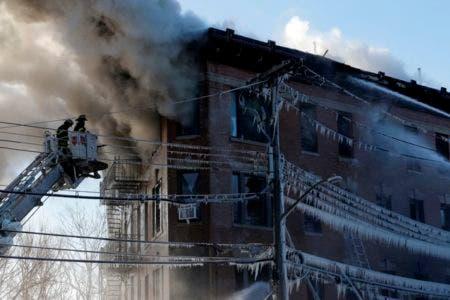 Otro incendio en el Bronx, Nueva York; hay ocho heridos