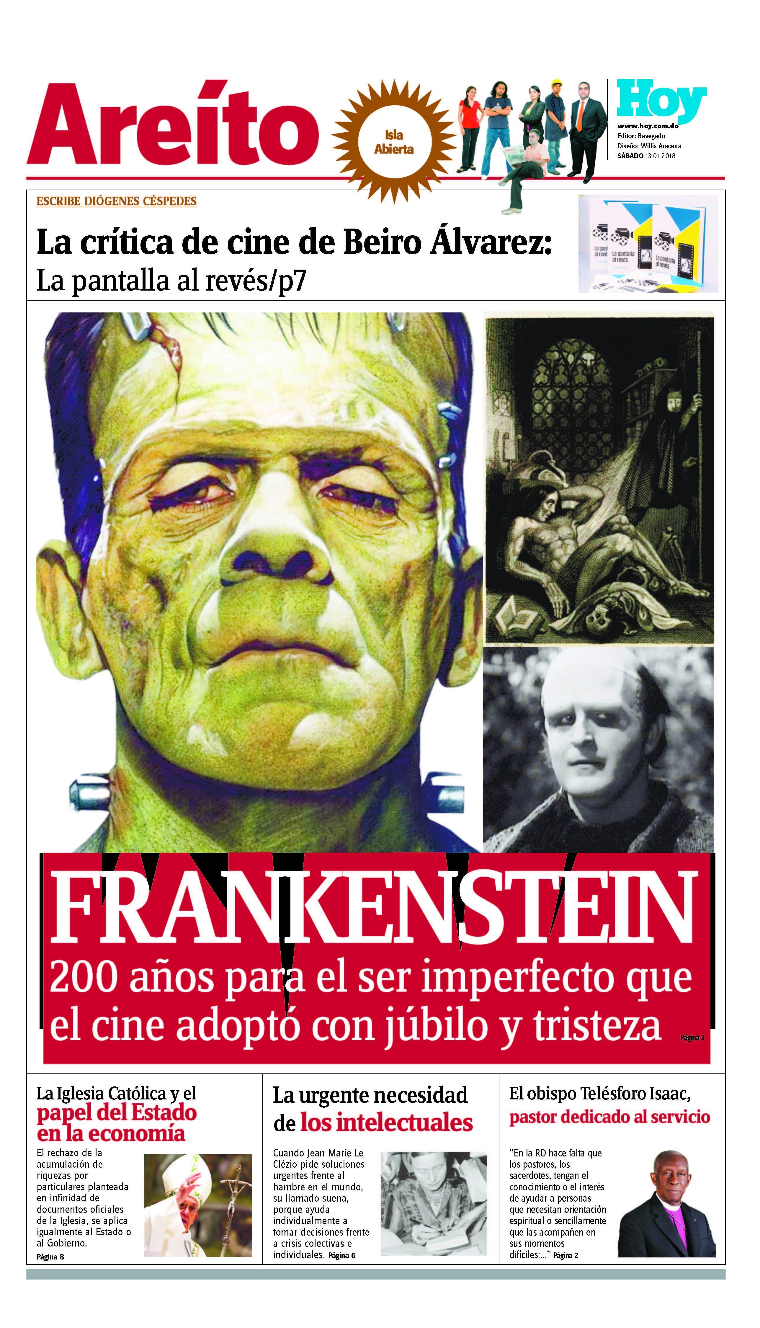 portada Areito, sabado 13 de enero , 2018