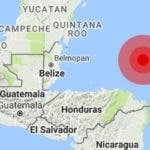 Terremoto en Honduras.