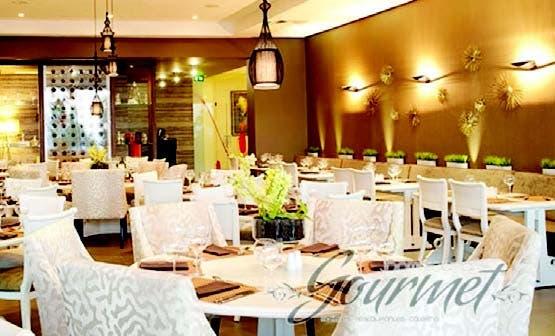 Área del restaurante donde será ofrecida la cena romántica