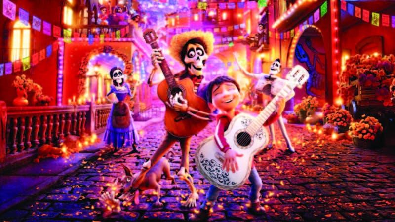 """""""Co co"""" es una película estadounidense inspirada en la festividad mexicana del Día de Muertos, fue dirigida por Lee Unkrich y producida por Pixar"""