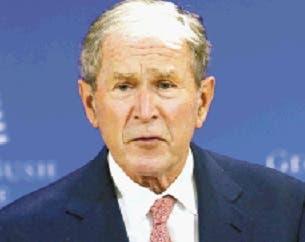 """George Bush ve asalto al Capitolio como algo propio de una """"república bananera»"""