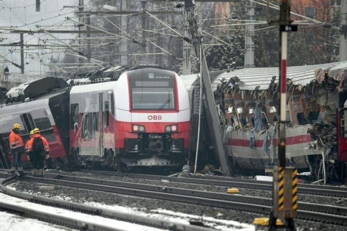 AUSTRIA-TRAIN-ACCIDENT