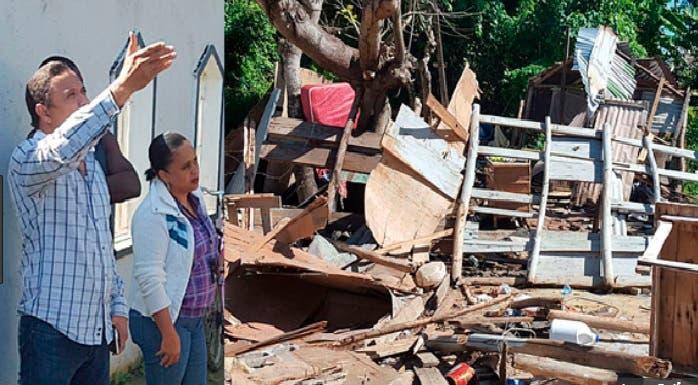 El alcalde Álex Díaz ordena operativos de derribo de casuchas de haitianos/Foto: Fuente externa.