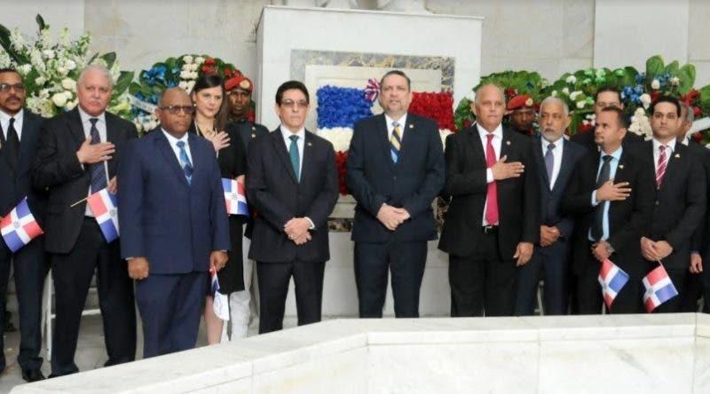César Prieto en Altar de la Patria