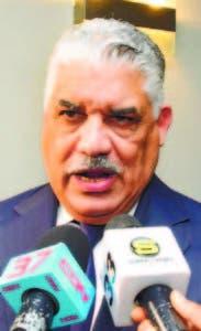 Canciller Miguel Vargas