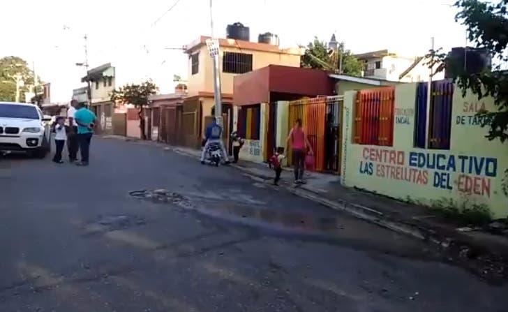 CAASD repara cloaca afectaba Guardería Infantil en Villa Mella