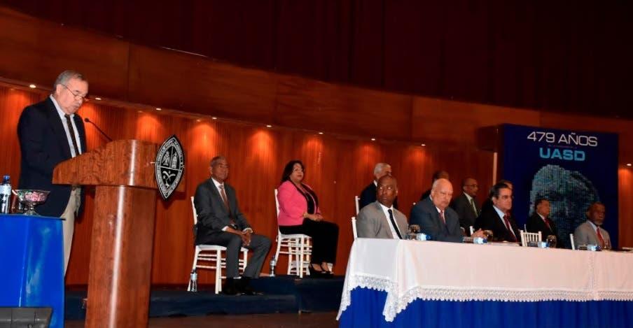 Comisión Electoral UASD abre campaña para escogencia nuevo rector