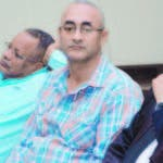 Cristino Batista, Ericson de los Santos y el abogado Plutarco Jáquez