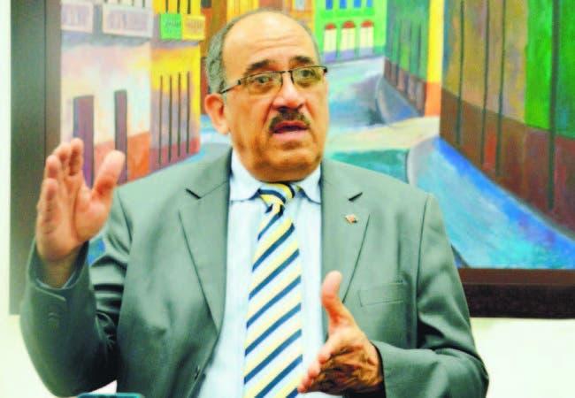 El agrónomo Leonardo Faña, aspirante la secretaría general del PRM