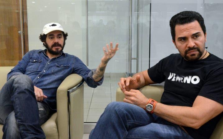 """Entrevista al actor Manny Pérez, y al  cineasta Tabaré Blanchard, quienes protagonizan y dirigen respetivamente la película """"Veneno"""", basada en la vida del luchador dominicano Jack Veneno. Hoy/ Jorge González"""