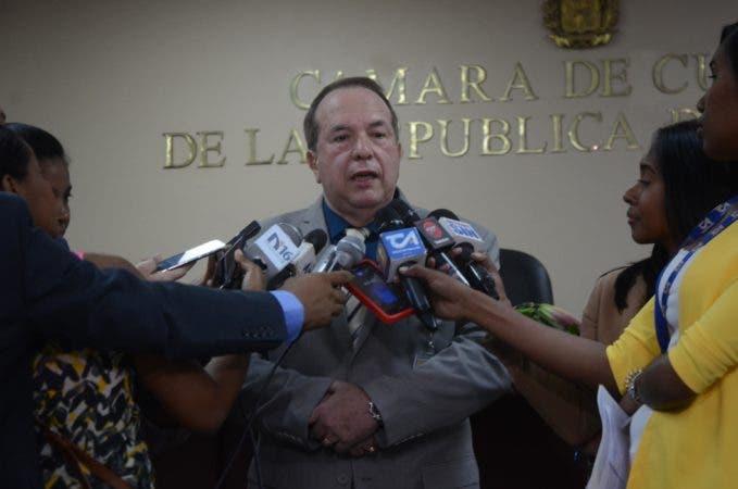 Hugo Álvarez, presidente de la Cámara de Cuentas .
