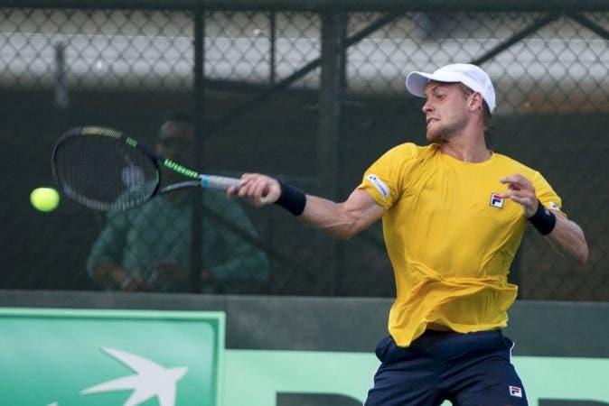 Brasil se impuso a Dominicana en decisivo partido Copa Davis