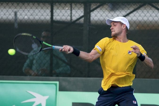 José Hernández adelantó a RD frente a Brasil en Copa Davis