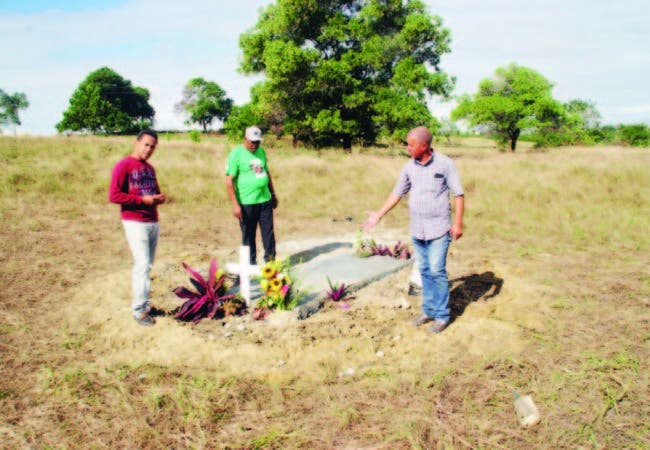 Los 380 mil metros ocupados por la comunidad para sepultar a sus muertos, por falta de un cementerio