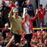 Presidente de Venezuela, Nicolás Maduro, y su esposa/AP