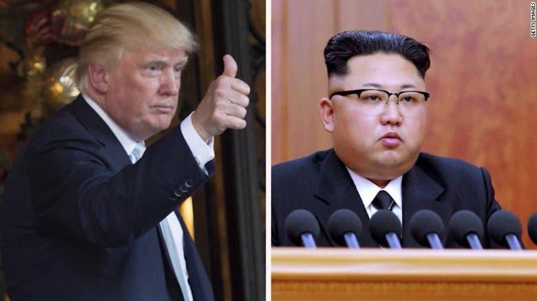 Donald Trump y  Pyongyang . Fuente externa.