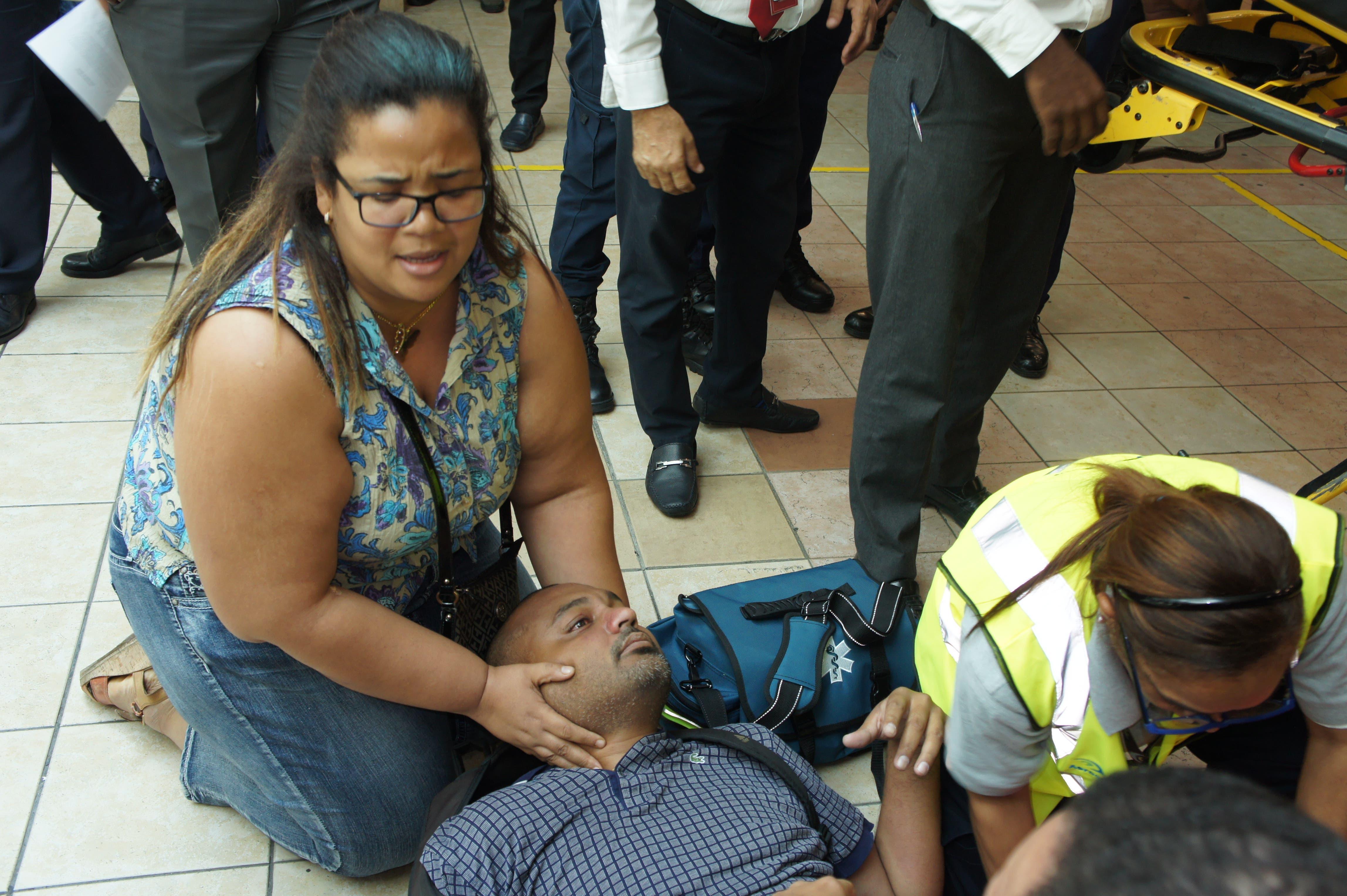 Fallece francés que cayó de tercer piso del AILA