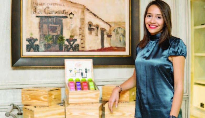 karina Domínguez, gerente de marketing de la compañia