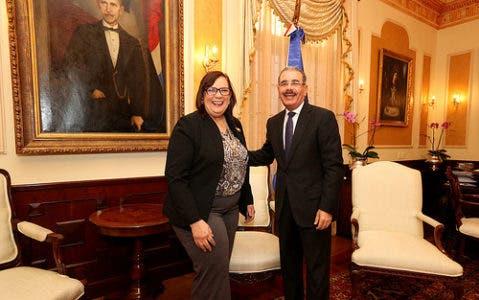 Medina designa a Mildred Guzmán embajadora en la República Bolivariana de Venezuela