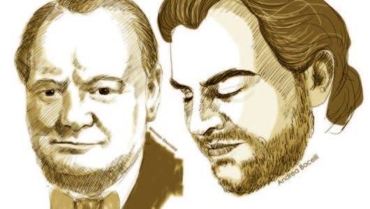 Churchill, Elito  y Bocelli, en la diana